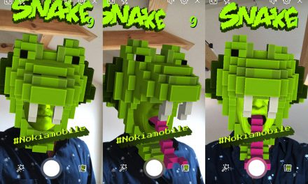 You can now play Nokia's classic Snake game using AR technology