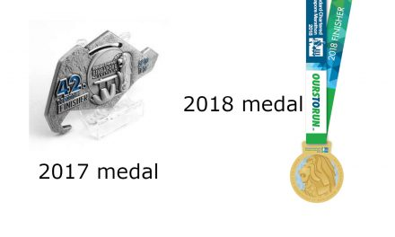 Singapore StanChart Marathon unveils gold-plated medal for 2018 race