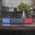 Ultra Portable Bluetooth speaker X-mini XOUNDBAR now comes in Crimson Red and Midnight Blue