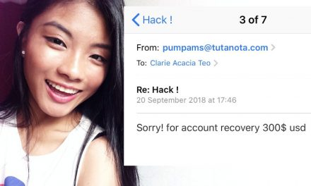 Service provider blocks email address used to hostage ME1 Clarie Teo's account while she waits for police and Instagram's help