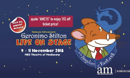 [PROMO CODE + GIVEAWAY] Geronimo Stilton Live in Singapore in the Kingdom of Fantasy 2018