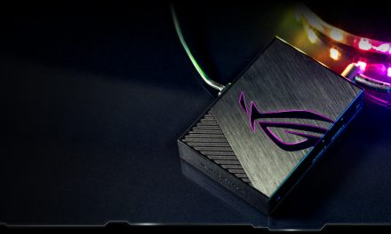 The New ASUS ROG Aura Terminal with RGB Lighting
