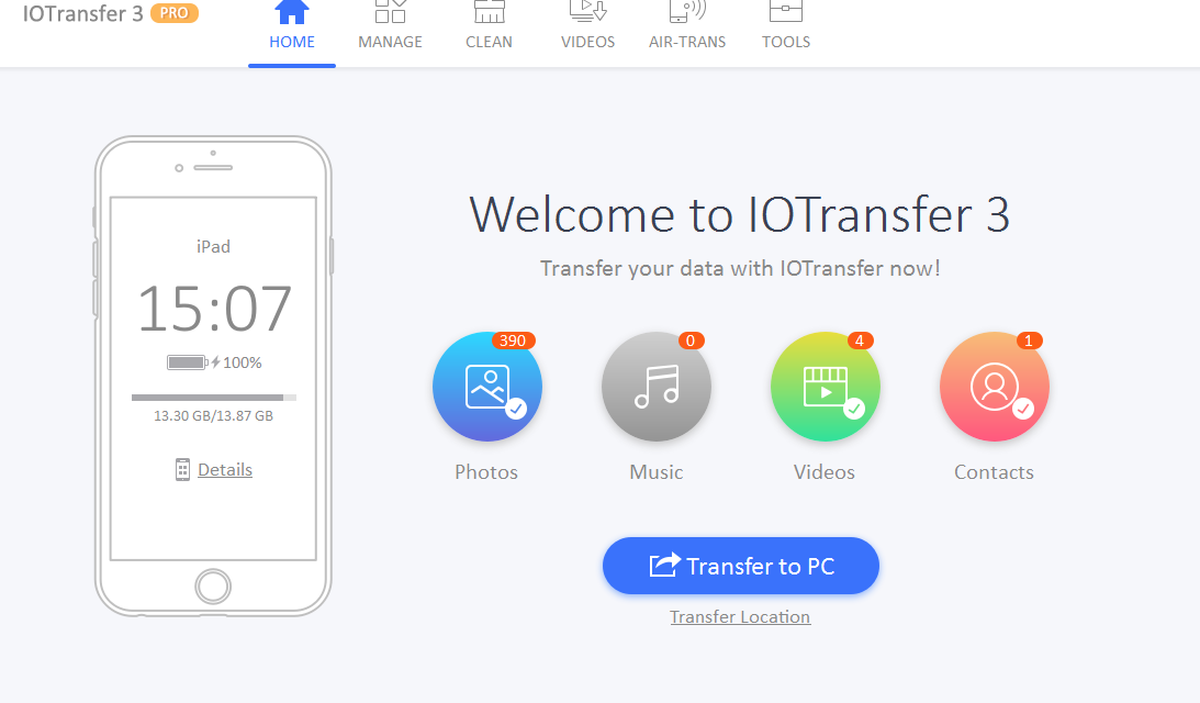 If you do not like using iTunes to transfer files, try IOTransfer