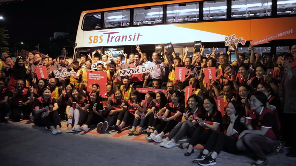 NESCAFÉ Gives Bus Captains A Bright Start On International Coffee Day