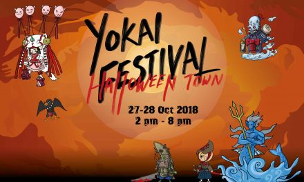 NTUC Downtown East invites you join the fun at Halloween Town: Yokai Festival