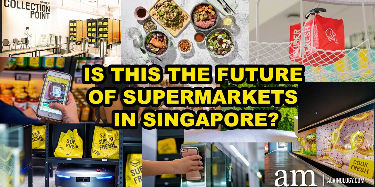 habitat by honestbee – first smart supermarket and F&B concept for the future in Singapore