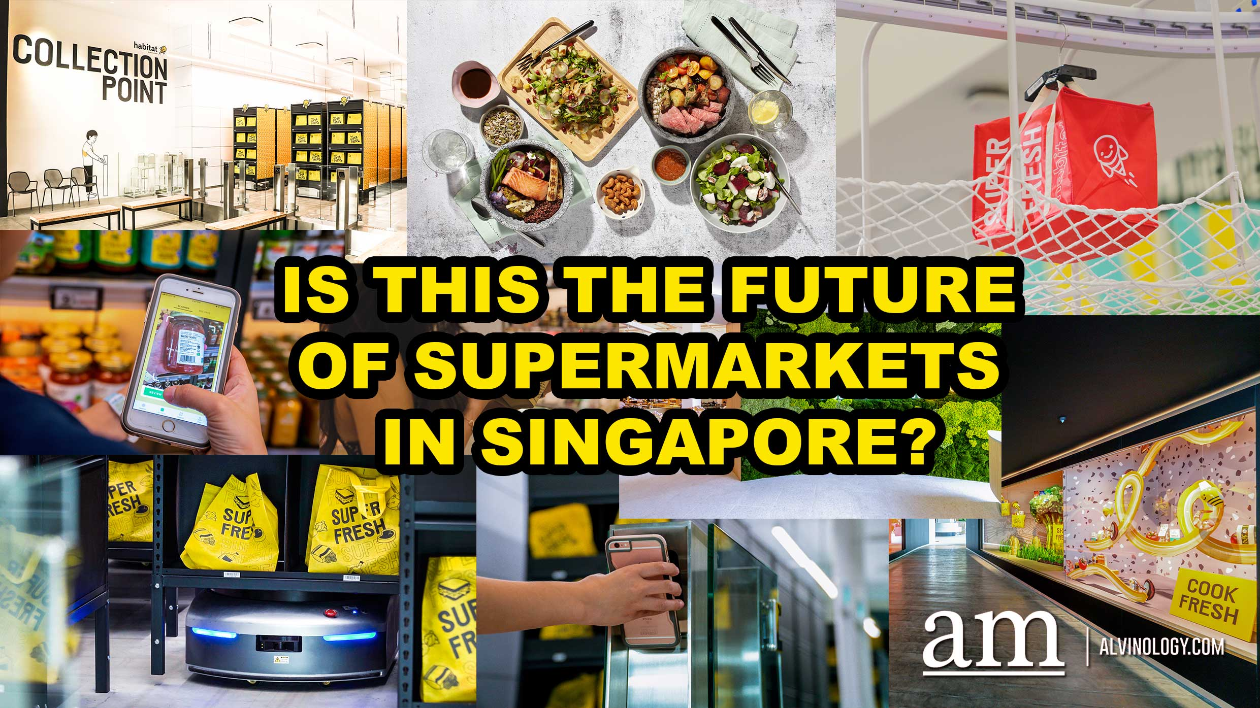 habitat by honestbee - first smart supermarket and F&B concept for the future in Singapore - Alvinology