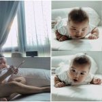 Naomi Neo's baby Kyzo just turned 4 months old and we can't get enough of this cutie