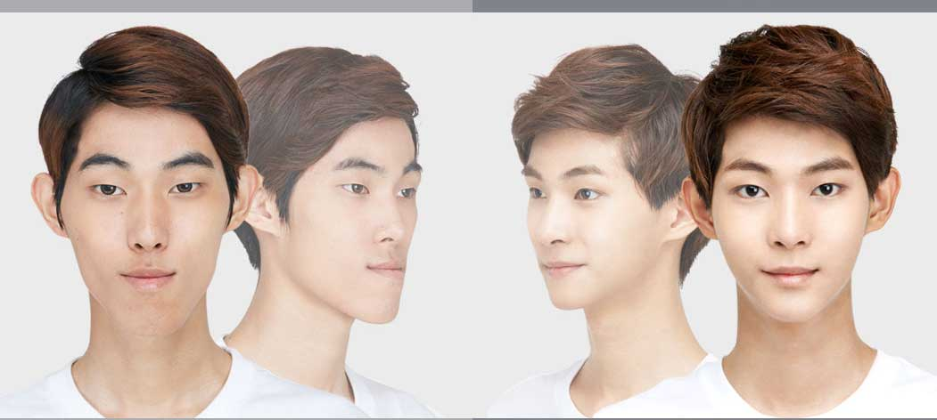 How to get that perfect jaw and nose to look like a male K-pop star