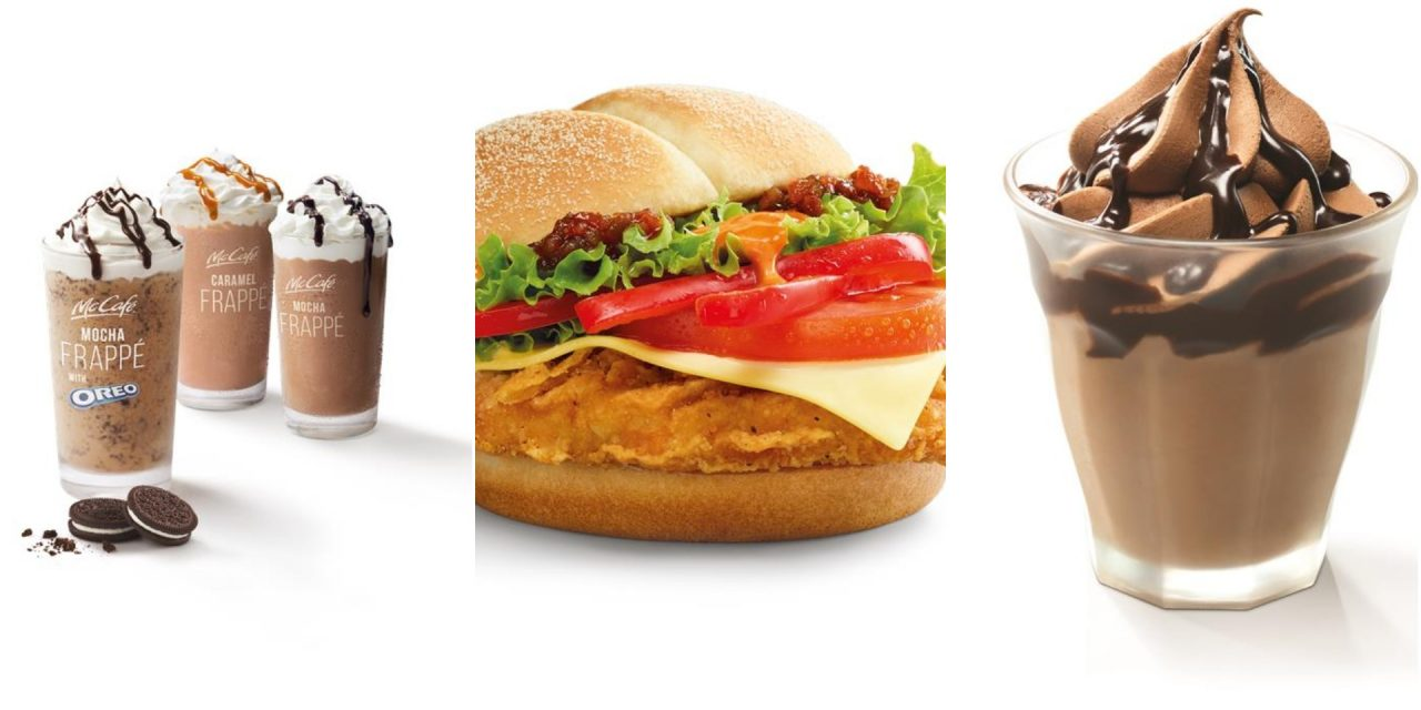 McDonald's flaming Red Hot Spicy Peppers Burger and new desserts are here starting November 1