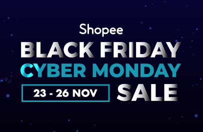 Goodbye to Monday blues with Shopee Black Friday and Cyber Monday Sale