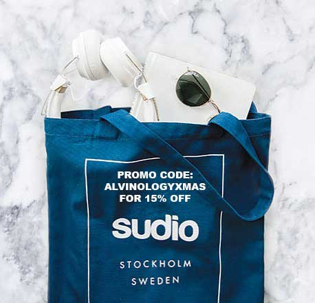 [GIVEAWAY + 15% OFF PROMO CODE INSIDE] Twelve Days of Christmas (and a Happy New Year) with Sudio - Alvinology