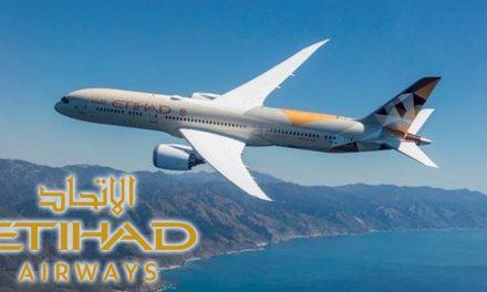 Eithad Airways brings Boeing 787-9 Dreamliner to Barcelona
