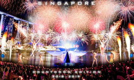 Map and Schedule of Activities at the Marina Bay Singapore Countdown 2019