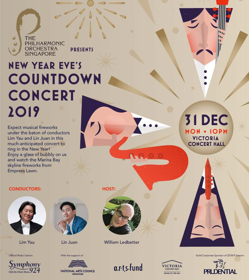 Map and Schedule of Activities at the Marina Bay Singapore Countdown 2019 - Alvinology