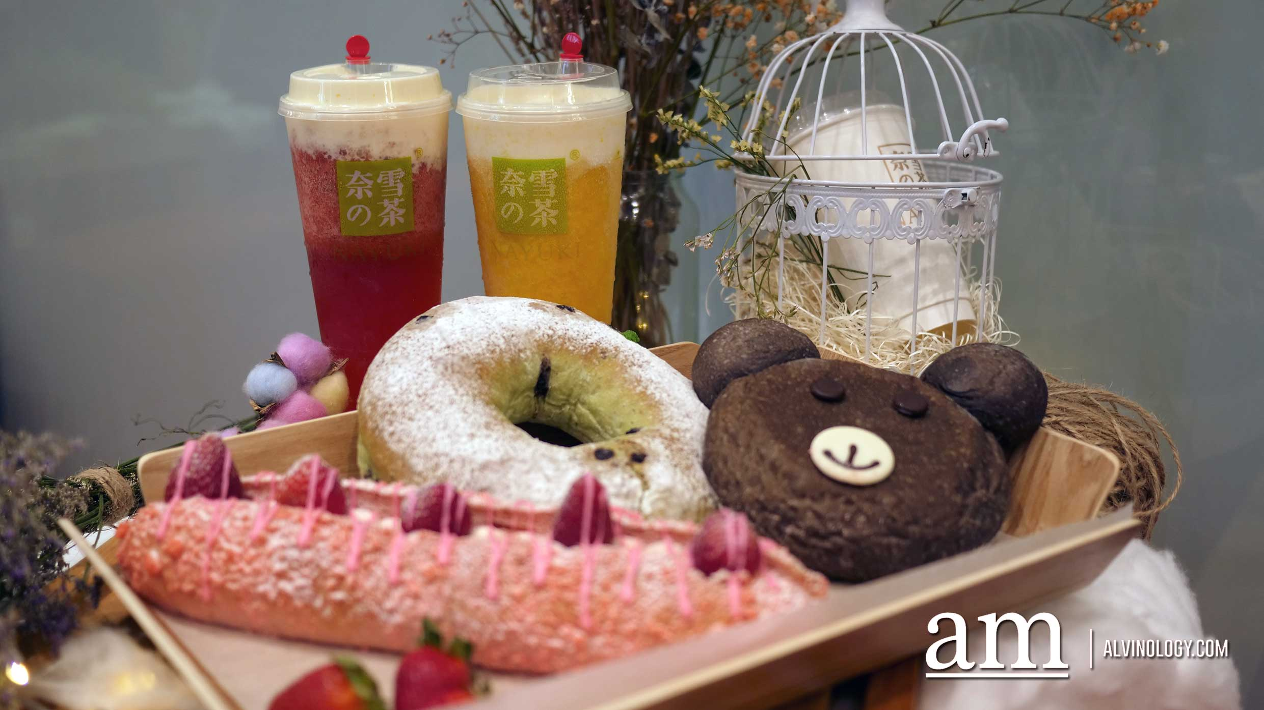 Store Preview - Cheese Tea Bakery Nayuki (奈雪の茶) to open on 8 Dec with 1-for-1 Promotion - Alvinology