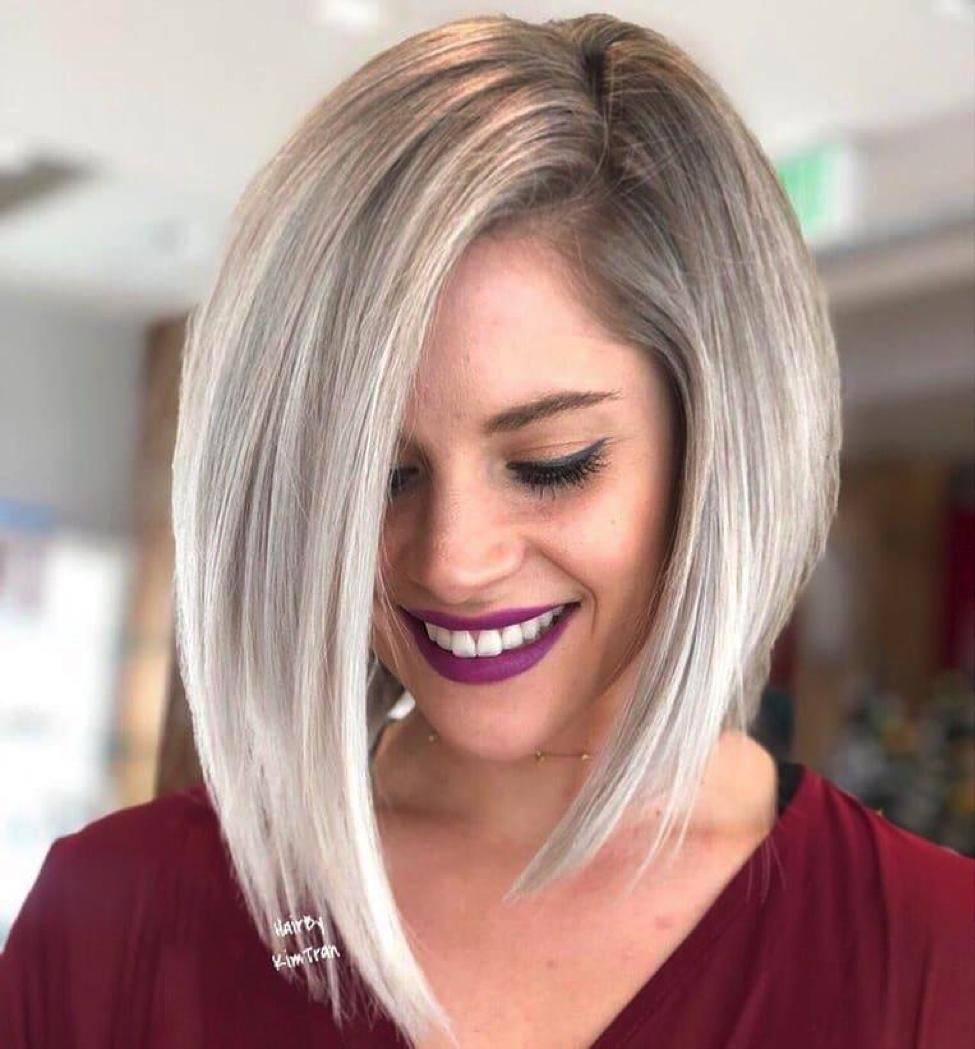 7 Most Glamorous Asymmetrical Bob Hairstyles For 2019 - Alvinology