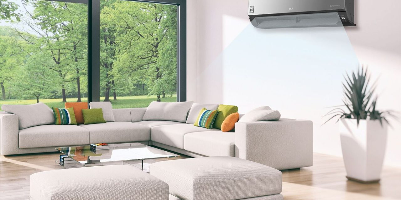 LG's new ArtCool Plus Air Conditioners now has Wi-Fi capabilities, controllable using the LG SmartThinQ app