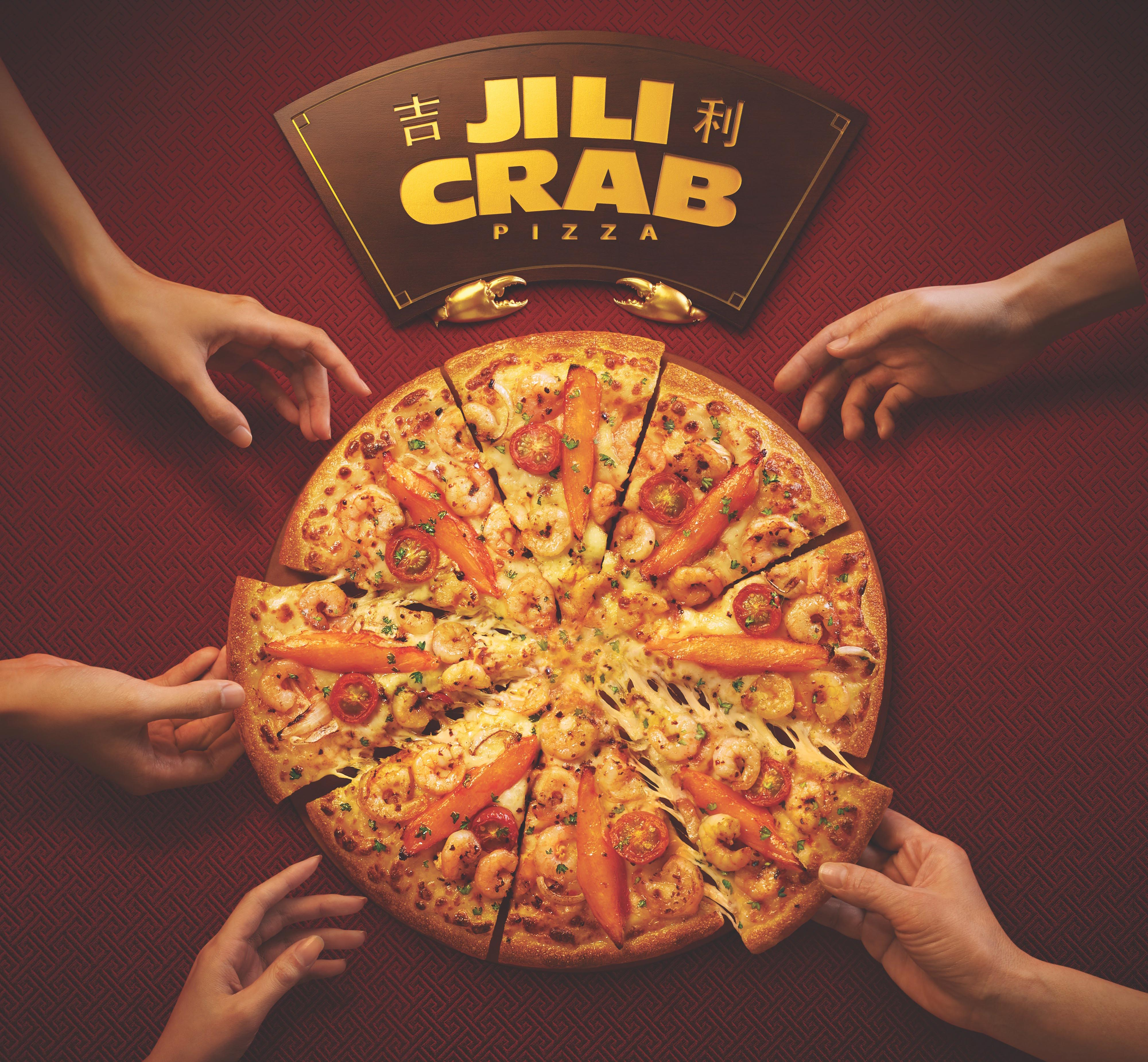 """[Promo Inside] Indulge in the new """"Ji Li"""" Crab Pizza & local hit """"Ngoh Hiang"""" at Pizza Hut this Lunar New Year - Alvinology"""