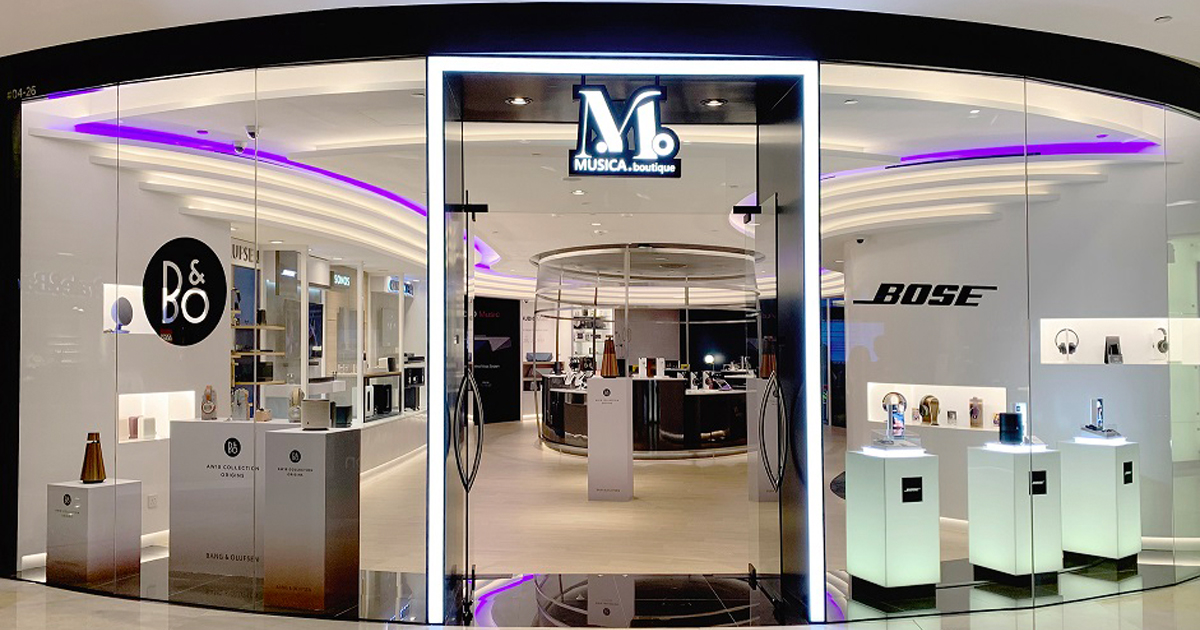 "Challenger Technologies opens ""Musica Boutique"" – delivering luxury audio experience"