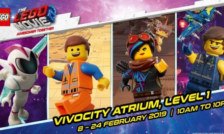 Don't let the kids miss this 17-day LEGO Movie 2 event at VivoCity from 8 to 24 February