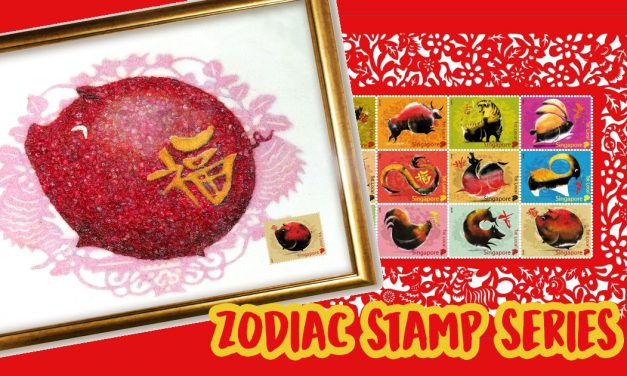 Get your lucky Zodiac Pig stamps now at SingPost and complete the Zodiac stamp series