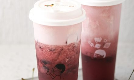 HEYTEA 喜茶 Presents Its Beautiful Chinese New Year Spring Special: Cherry Cheezo Tea