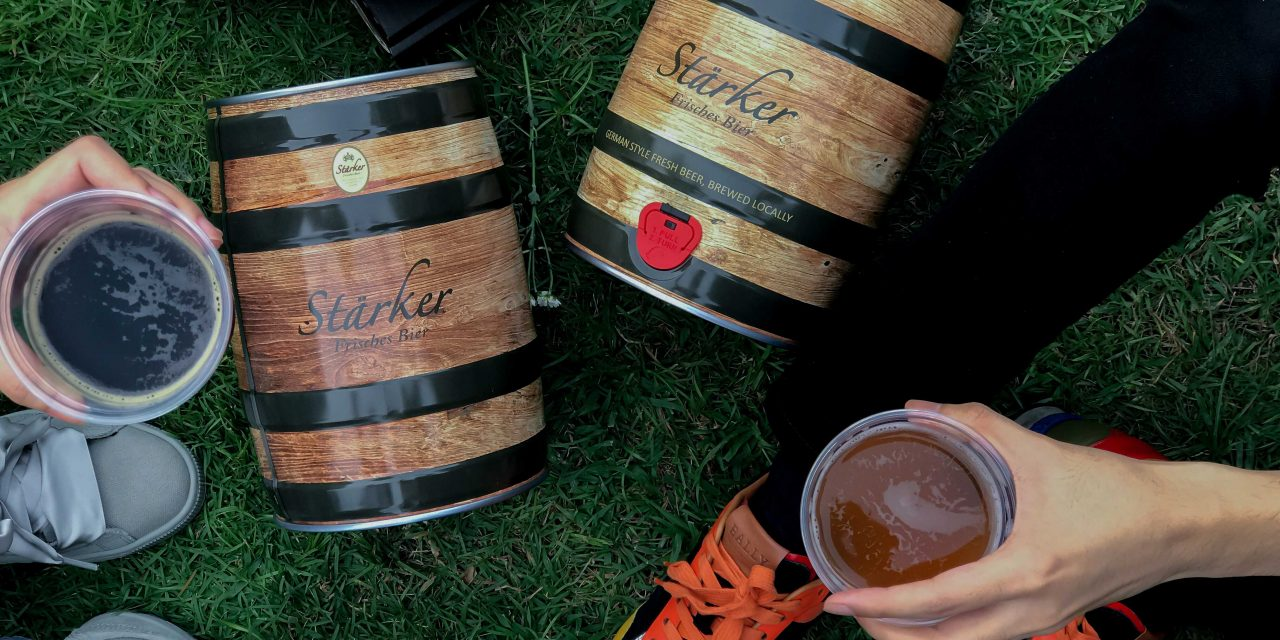 Enjoy award-winning Stärker craft beer in the comfort of your home