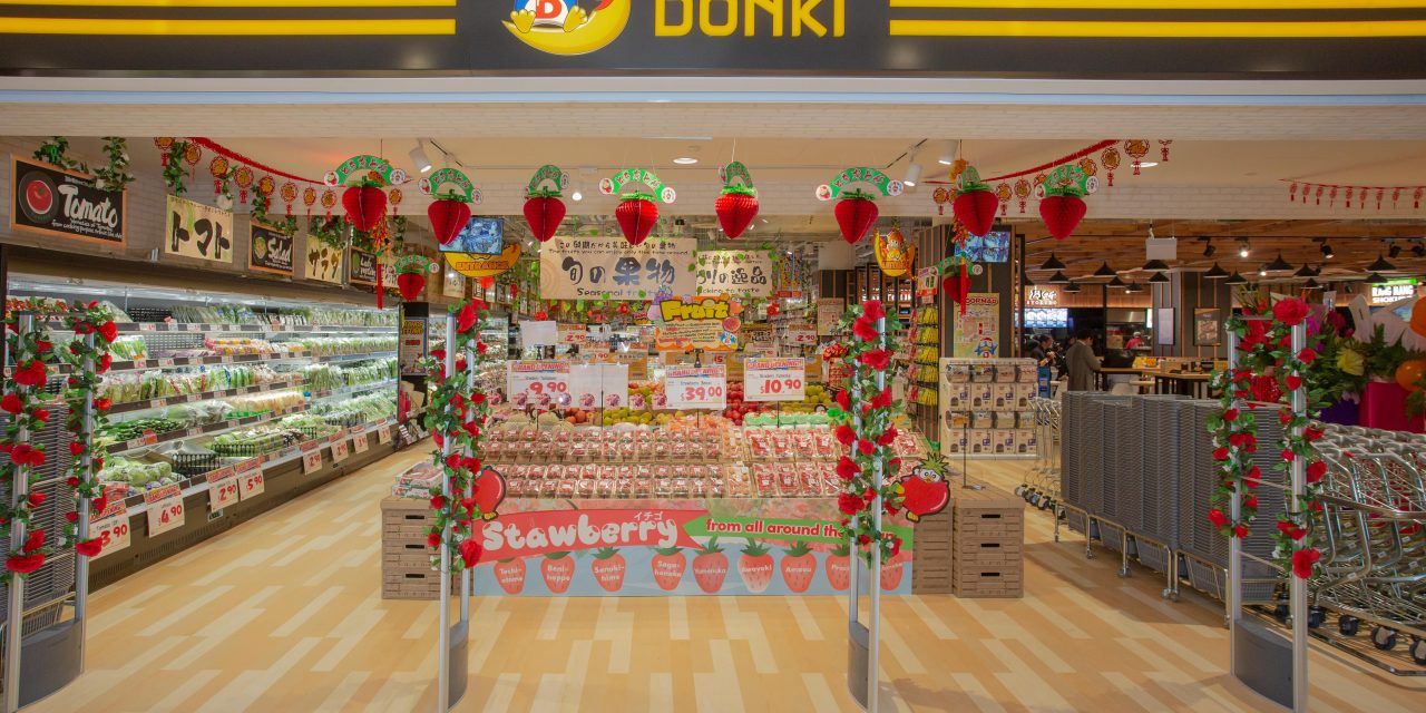 Third (and largest) Don Don Donki Outlet Opens at City Square Mall