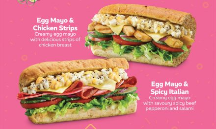 Subway launches two new Egg Mayo Subs and a special pineapple cookie for the Chinese New Year