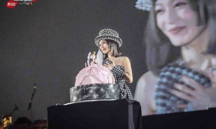 Angela Zhang (張韶涵) celebrates 37th birthday in Singapore as part of her JOURNEY「 旅程 」World Tour 2019 concert round
