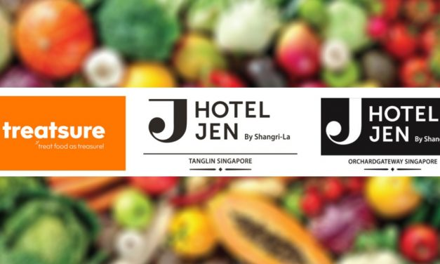 Hotel Jen Tanglin Singapore and Hotel Jen Orchardgateway Singapore to start treating food as treasure with treatsure