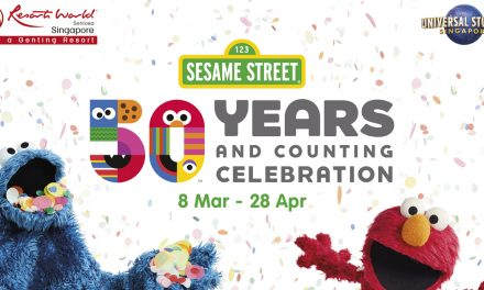 Join your favourite puppets as Sesame Street celebrates its 50th anniversary at Universal Studios Singapore