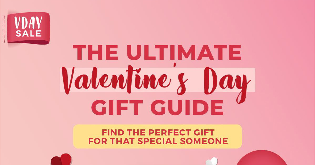 Shopee's ultimate Valentine's Day Gift Guide for Him, for Her, and for Singles - Alvinology