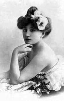 Sidonie Gabrielle Colette - image via wikipedia