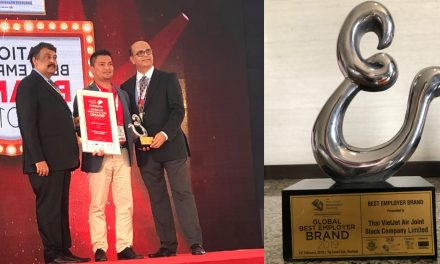"Thai Vietjet wins ""Global Best Employer Brand 2019"" Award adding up to its numerous milestones"