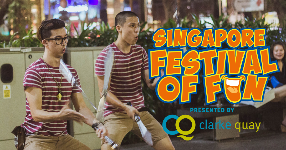 The biggest Singapore Festival of Fun is happening at Clarke Quay this March holiday