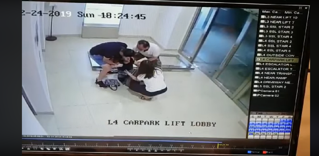 Alexandra Central Mall fixes falling glass door and explores firm action against video leakers