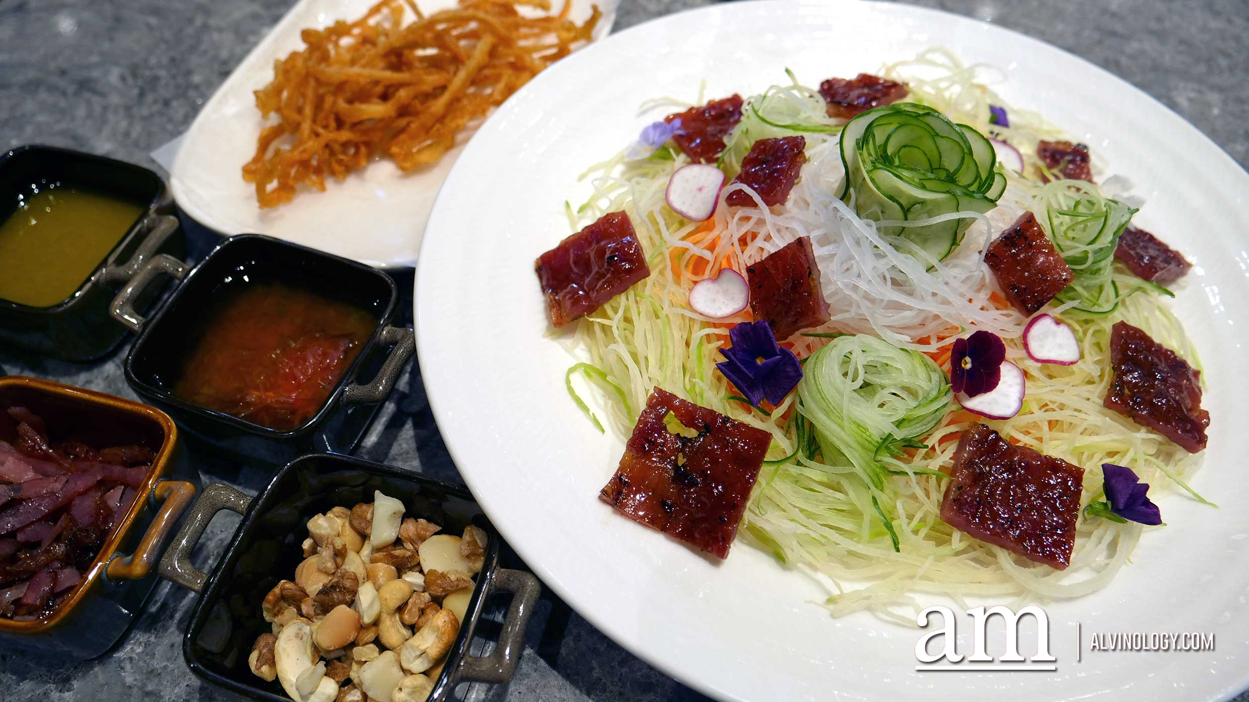 Bakkwa Lohei to usher in the Year of the Pig - Alvinology