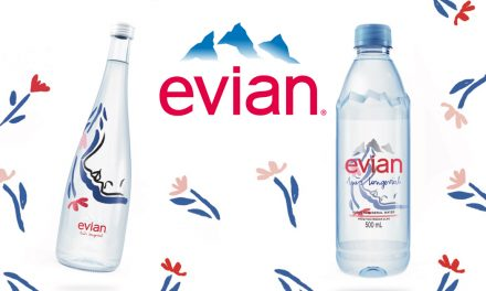 [Promo Inside] evian unveils new limited-edition bottle by Ines Longevial to celebrate International Women's Day