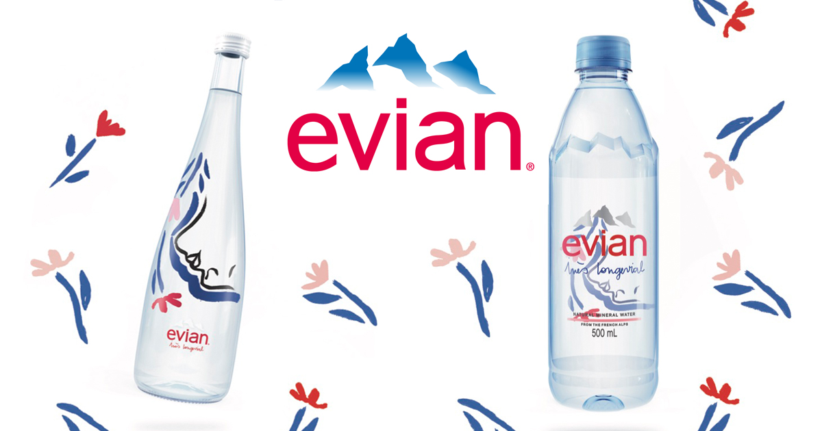 [Promo Inside] evian unveils new limited-edition bottle by Ines Longevial to celebrate International Women's Day - Alvinology