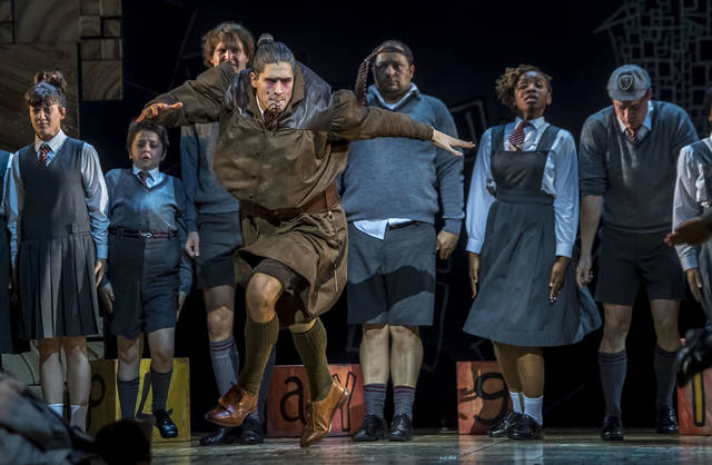 Ms Trunchbull is the unexpected star in 'Matilda' the musical