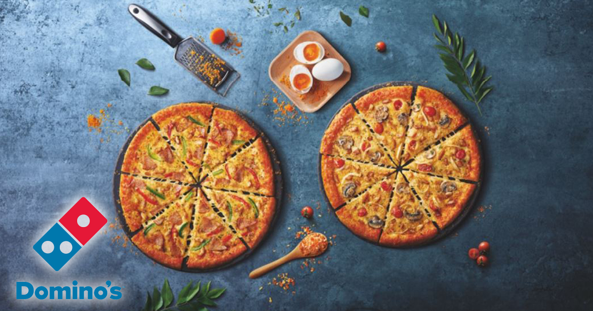Ho-SEY! Here are two new limited-time flavours you shouldn't miss at Domino's