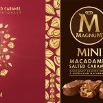Take pleasure seriously with the New Magnum Macadamia Salted Caramel