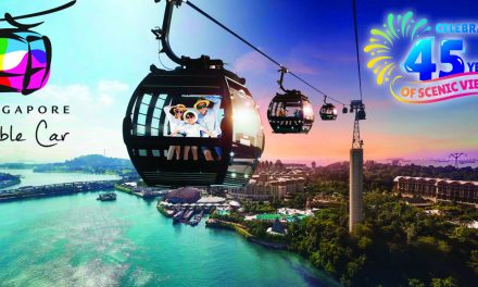 Experience vintage Singapore Cable Car cabins on special display at Mount Faber Cable Car Station