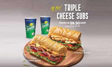Subway launches new Cheese Bread and two new Sandwich Flavours available until May 2019