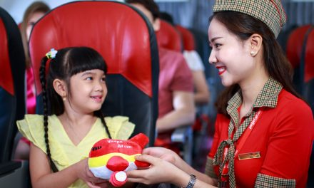 WIN FREE FLIGHTS with Vietjet this weekend at Raffles City Shopping Centre