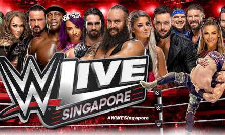 WWE LIVE SINGAPORE returns this June 2019, you can reserve your seats this 15 March (See here)
