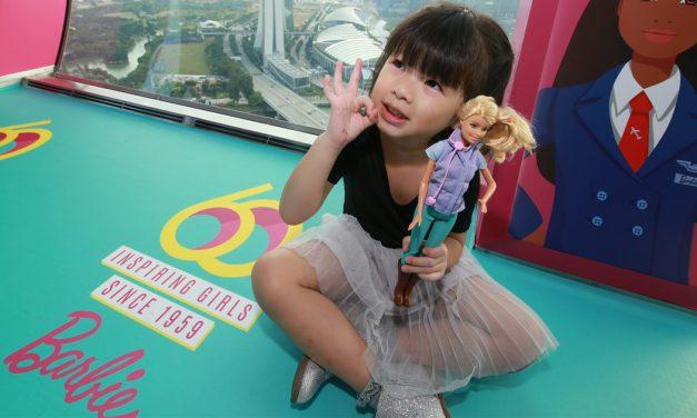 Barbie celebrates her Diamond Jubilee in Singapore