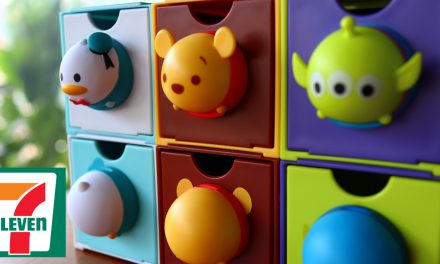 Collect all 12 stackable Disney Tsum Tsum drawers from 7-Eleven